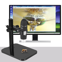 Portable USB2 0 Digital Microscope 1000X Electronic Endoscope 8 LED 2 Million Pixels Practic Magnifier Microscope