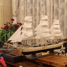 1 m sailing model Mediterranean furnishing articles Window display adornment Wooden crafts Business gifts