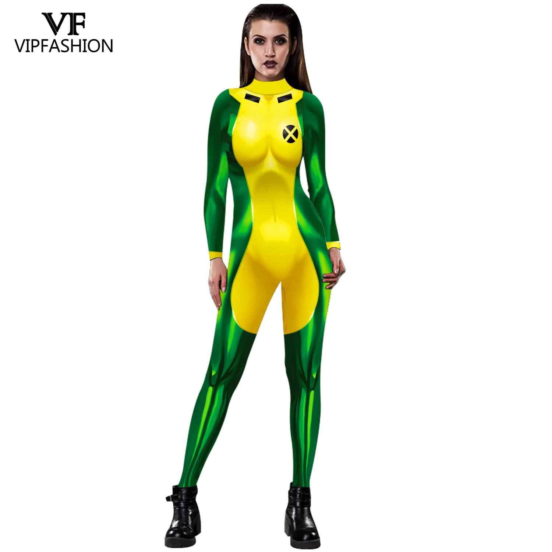 VIP FASHION Mystique Hero Anime Aquaman Wife Mera Cosplay Deadpool Sexy Costume Carnival Halloween Costumes  For Adult