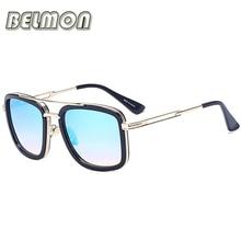 BELMON Fashion Sunglasses Men Women Luxury Brand Designer Sun Glasses For Male Female  Ladies UV400 Anti-Reflective RS224
