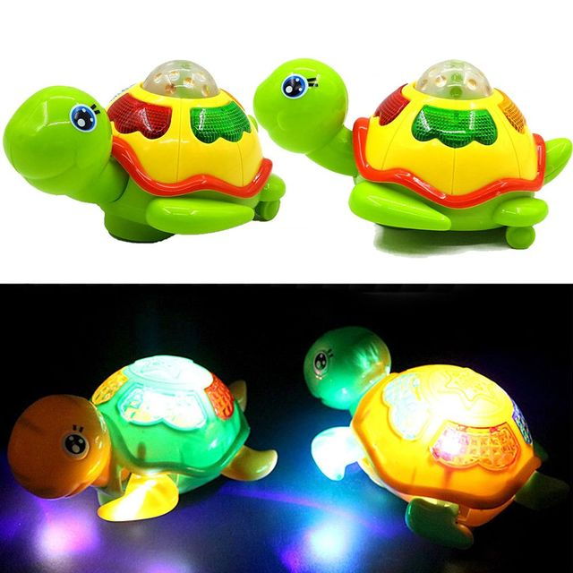 1 Pc NEW Kids Fashion Musical Tortoise Toys Electric