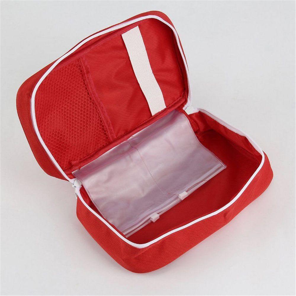 Portable Camping First Aid Kit Emergency Medical Bag Storage Case Waterproof Car kits bag Outdoor Travel Survival kit Empty bag 4
