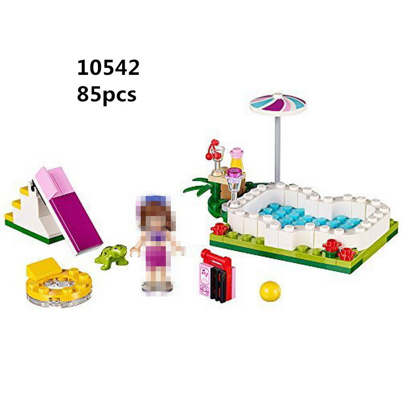 Bela 10542 girl series summer swimming pool vacations girl - Swimming pool girl christmas vacation ...