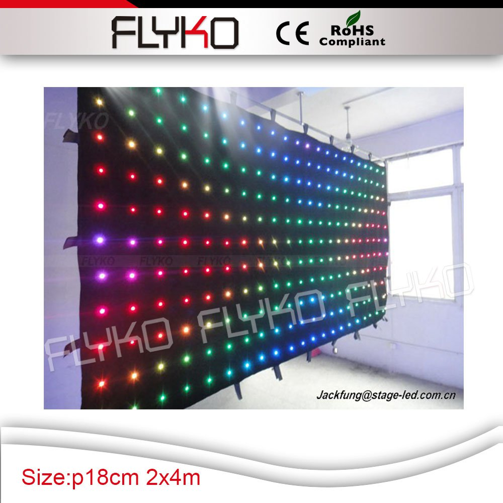 free shipping lighting led new products christmas lights diy led curtain guangzhou rgb flexible led curtain
