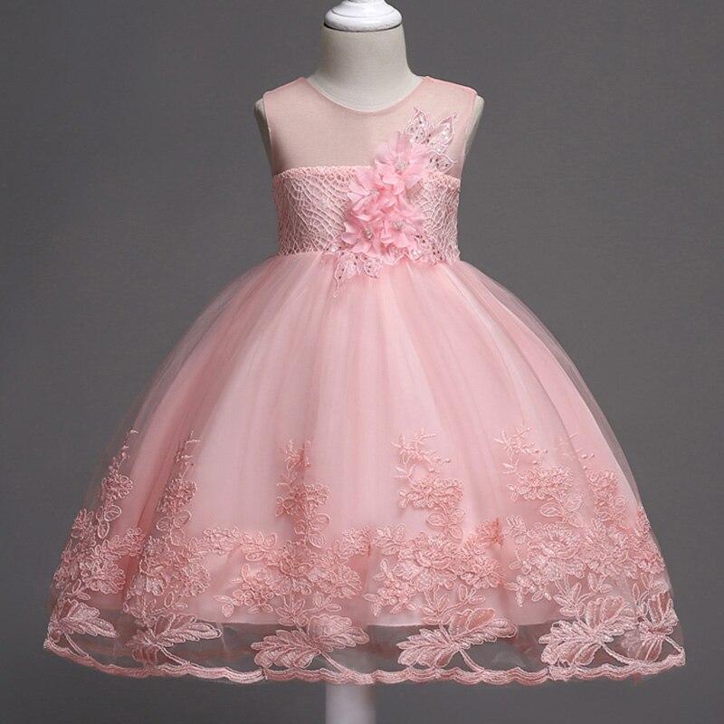 Niños Niñas desgaste del partido traje para niños princesa vestidos ...