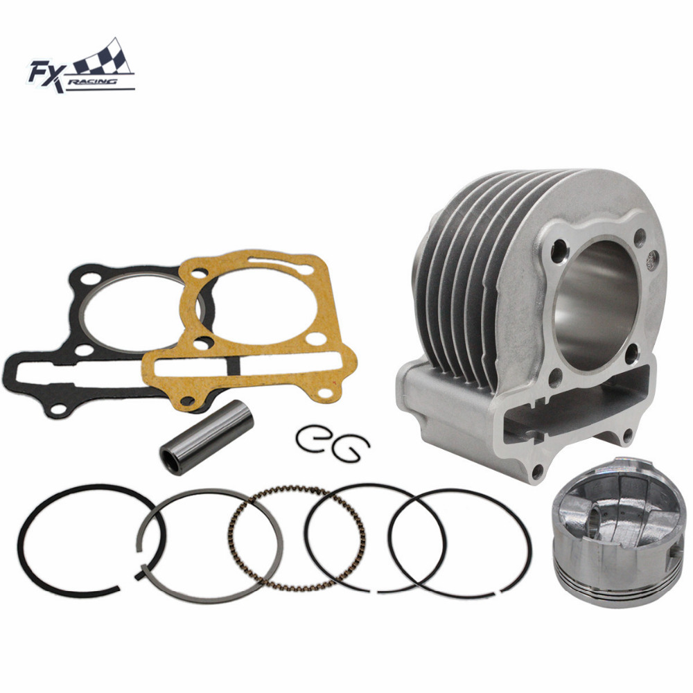 Kit de cylindre de grand alésage GY6 haute Performance 150CC 57mm pour Kit de cylindre de moto Scooter TAOTAO ATV