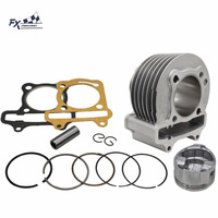 High Performance GY6 Big Bore Cylinder Kit 150CC 57mm For TAOTAO ATV Scooter Motorcycle Cylinder Kit