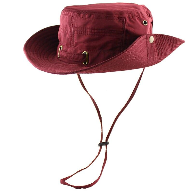 Sun Hat Women Men Bucket Summer Fishing Boonie UV Protection Bob Outdoor Beach Cap Packable Mesh Quick Dry