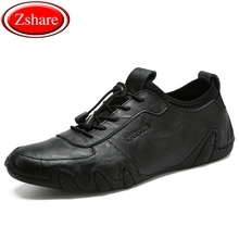 Genuine Leather Men Shoes Fashion Top Quality Moccasins Men Flats Male Casual Shoes Zapatos Hombre Luxury Brand Black Loafers цена