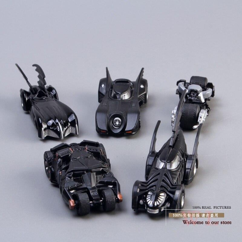 DC Tomica Limited TC Batman Metal Batmobile Collectible Model Toys 7cm/2.8 5pcs/set New in Box HRFG174 tomica тротуар для трассы