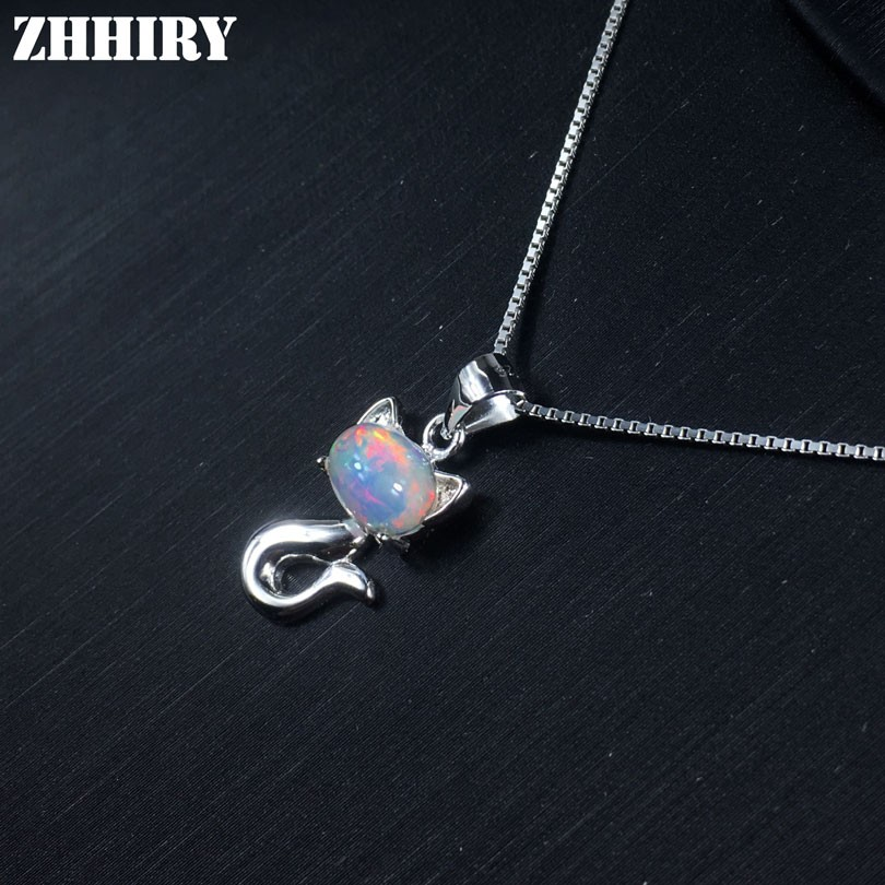925 Sterling Silver Jewelry Chrysanthème Femmes Collier Boucles d/'oreilles Set Box