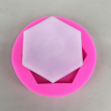 Luyou hexagon 1pcs Gem Diamond Shaped Fondant Mold Silicone Cake Candy Chocolate Mould Cake Decorating Tools FM1528