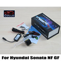 For Hyundai Sonata NF / Special Laser Rear Fog Lamp / External Automobiles for Anti-Collision Rear-end Auto safe Driving Lights
