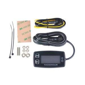 Image 4 - Runleader LED Tach שעה מטר HM035L מדחום מד מתח טמפרטורת מטר לעפר ימי quad אופני בור אופני גולף