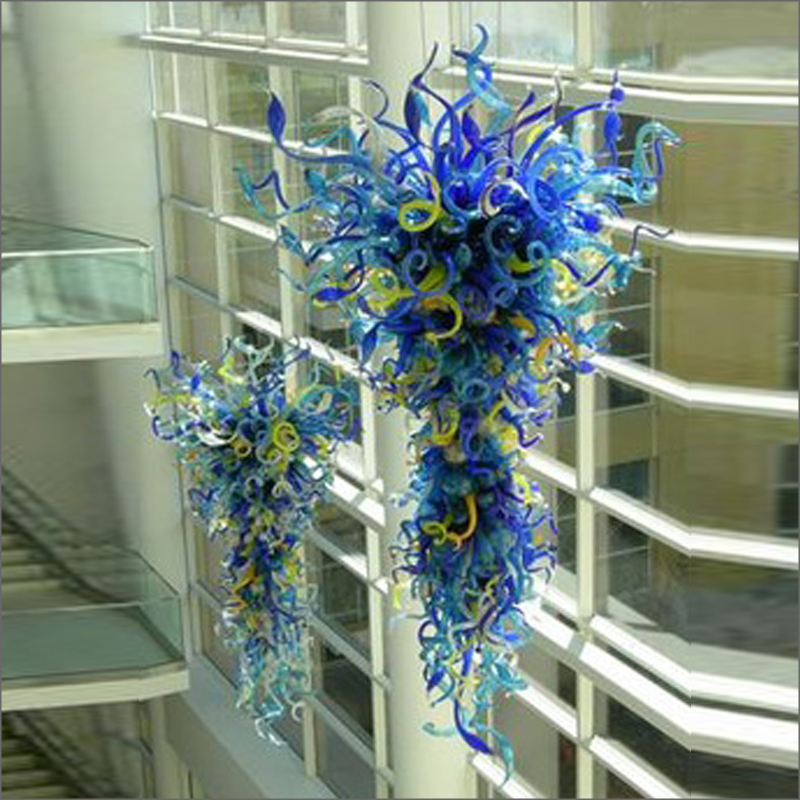 China Factory Outlet Handmade Blown Murano Glass Chandeliers Ceiling Decorative Handmade Blown Murano Glass Chandeliers Chandeliers     -
