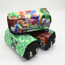 Pencil Case Estojo Escolar Kalem Kutusu Estuche Escolar Etui Pencilcase Minecraft Box School Kawaii My World Bag Lapices Grande