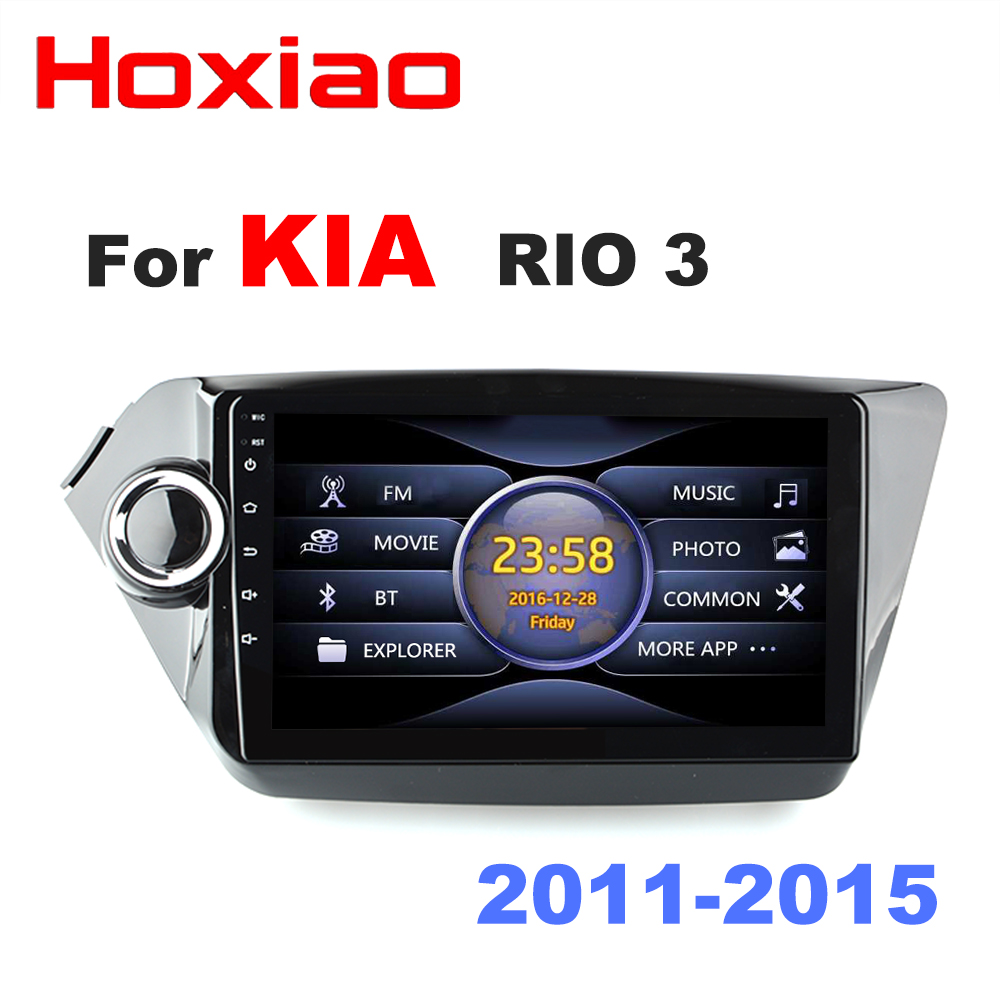 Car Radio Multimedia Video Player Mirror Link for Android phones For KIA RIO 2011 2012 2013
