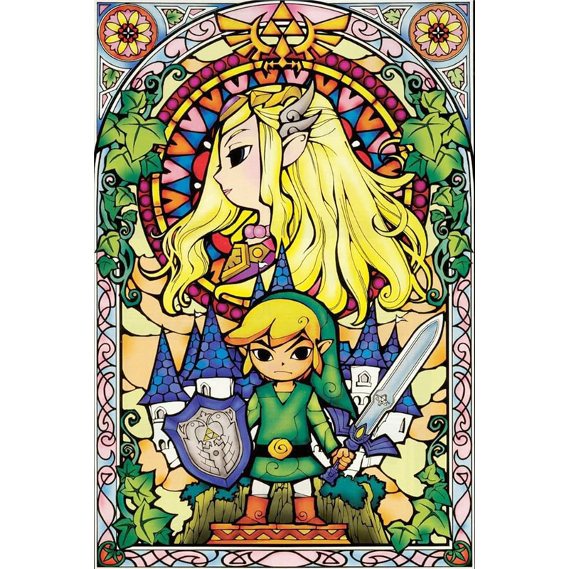 The <font><b>Legend</b></font> <font><b>Of</b></font> <font><b>Zelda</b></font> Skyward <font><b>diamond</b></font> Embroidery diy <font><b>diamond</b></font> <font><b>painting</b></font> mosaic diamant <font><b>painting</b></font> 3d cross stitch <font><b>diamond</b></font> picture H679 image