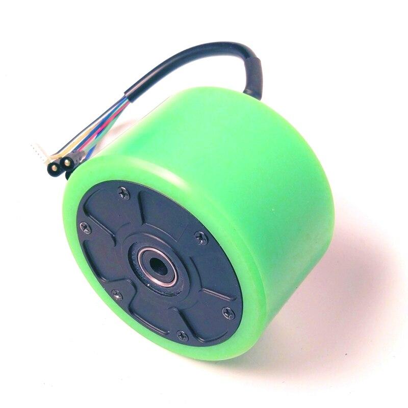 24 V 36 V 350 W rueda de Motor sin escobillas con Sensor Hall 90mm para patineta eléctrica DIY Longboard electrónico - 3
