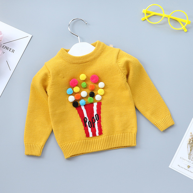 626a1b16b Spring Winter Autumn Baby Toddler Girls Boy Sweater Pullover Kid ...