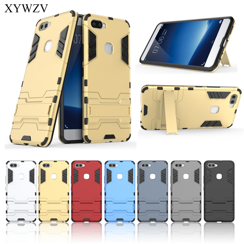 Image 5 - For Cover Vivo X20 Plus Case Silicone Robot Hard Rubber Phone Cover Case For Vivo X20 Plus Cover For Vivo X20Plus Coque XYWZV-in Fitted Cases from Cellphones & Telecommunications
