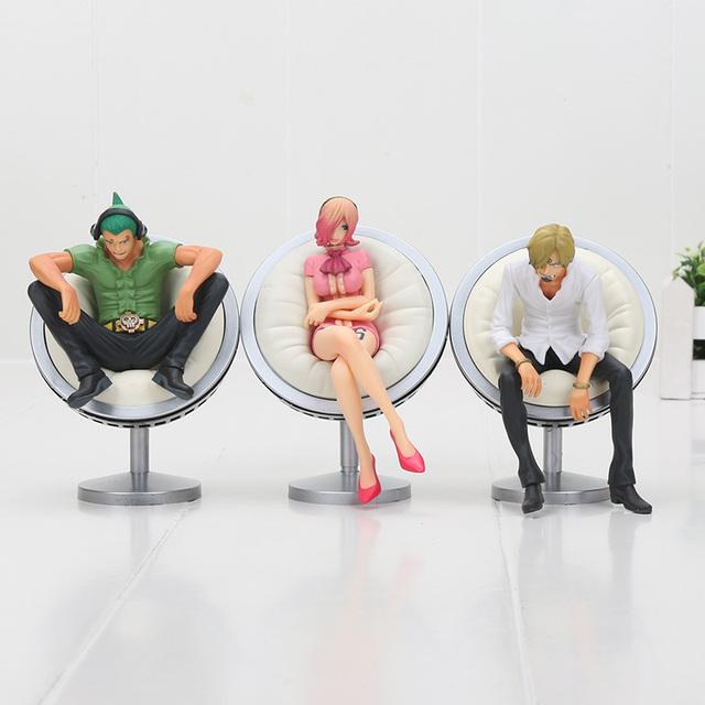 One Piece Familia Vinsmoke Figuras Coleccionables (6 Colores)