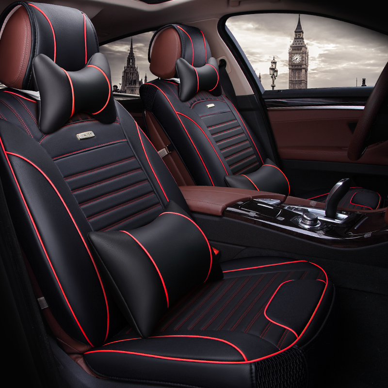 Front+Rear car seat cover for NISSAN MURRANO PATHFINDER PRIMERA SUNNY TEANA TERRANO TIIDA X-TRAIL NOTE PATROL Versa Juke