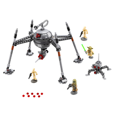 In stock 05025 320Pcs Star Wars Homing Spider Droid Master Model Compatible 75142 Building Block Toys  Gift For Children
