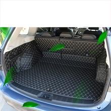 lsrtw2017 fiber leather car trunk mat for subaru forester 2019 2020 SK