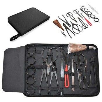 Набор инструментов для сада, углеродистая сталь, 16 шт./компл., ножницы с нейлоновым чехлом M25