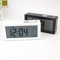 Creative Alarm Clock Desktop LCD Display Luminous Bedside Kids LED Clocks Desk Table Wekker Digitaal Digital Clock WKJ011