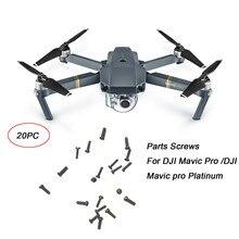 10pcs/20pcs Upper Middle Bottom Cover Screws For DJI Mavic Pro Drone 80518 drop shipping