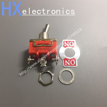 50PCS /LOT E-TEN1121 small toggle switch toggle switch rocker power switch ON-ON 3 feet 2 files фото