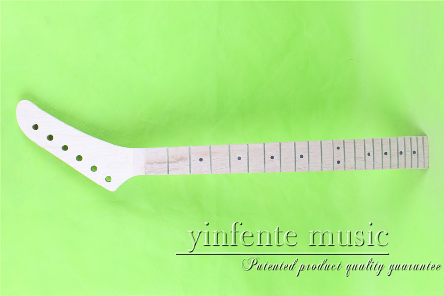 XJ-00171#  right    25.5 Electric guitar neck   Bolt on MAPLE    fingerboard fine quality  22 fret casio xj m141