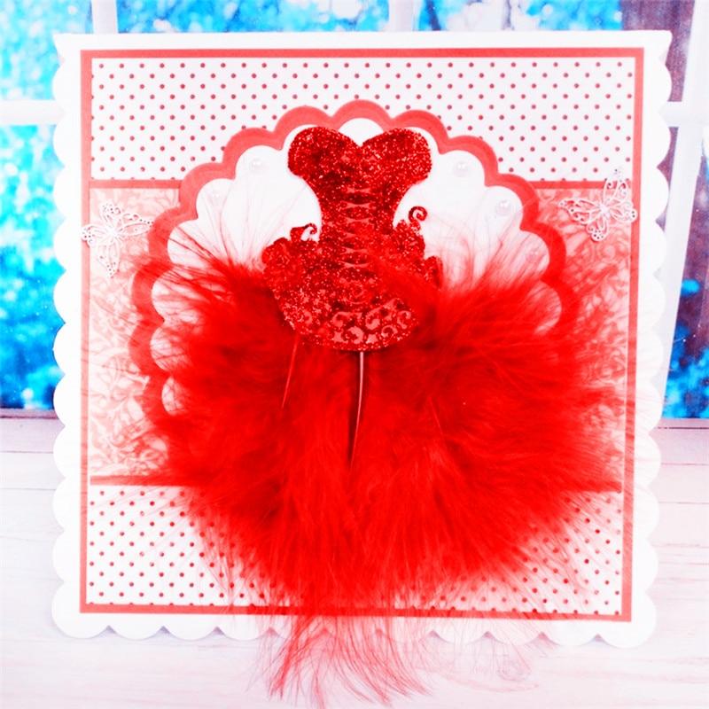 1PC Dance Skirt Metal Cutting Dies Stencils DIY Scrapbooking Stamp/photo Album Decorative Embossing Paper Cards