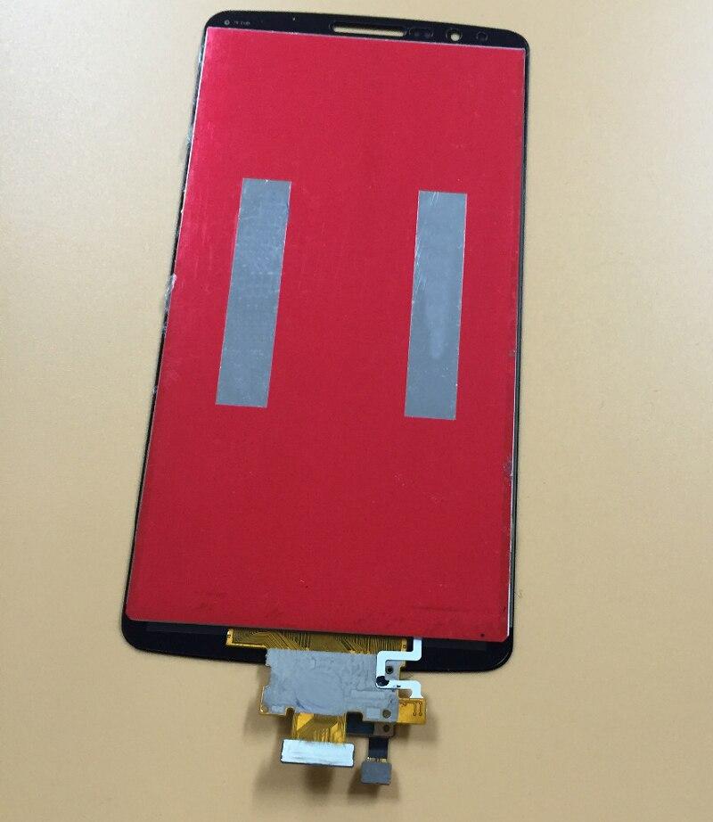 imágenes para Gris Sensor Panel de Vidrio Digitalizador de Pantalla Táctil + Asamblea LCD Monitor de Pantalla para LG G3 D850 D851 D855 LS990 VS985