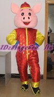 Новинка 2017 года Свинья персонажа из мультфильма костюм Косплэй Маскоты Заказные изделия на заказ (S. м. l. xl. XXL) Бесплатная доставка