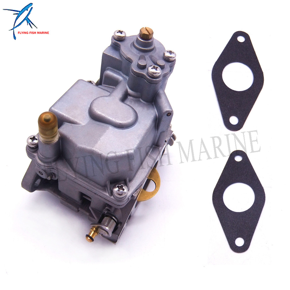 66M-14301-11 Carburetor and 66M-13646-00 Gasket for Yamaha 4-stroke F15 Manual S