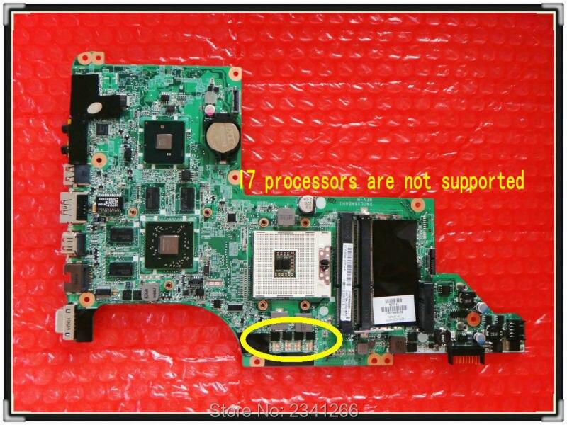 ФОТО 631044-001 for HP DV6 DV6T DV6-3000 motherboard HD6550/1G 100% test passed!!! Free shipping