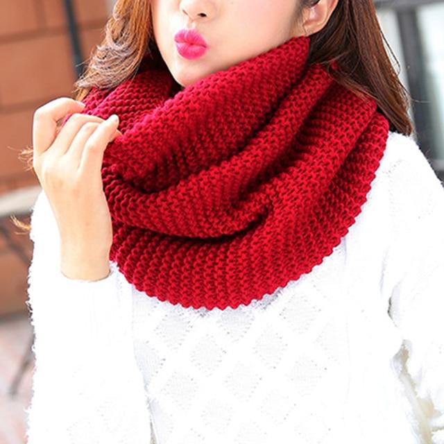 Новинка 2017 года на весну и зиму шарф теплые шарфы для Для женщин вязаный снуд для Для женщин Вязание Палантин бежевый такса женский шарф снуд Для женщин