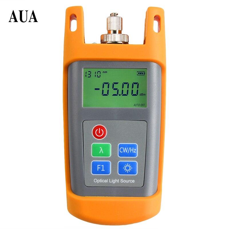 AUA-1315 Handheld Fiber Optical Laser Light Source two wavelength 1310/1550nm Fiber Optic Equipments