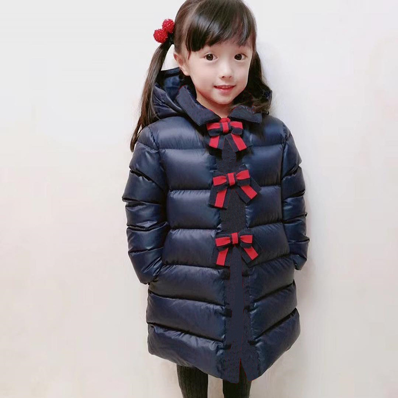 girls down jackets hooded duck down clothes for child girls autumn winter warm down coat outwear clothes in stock цена