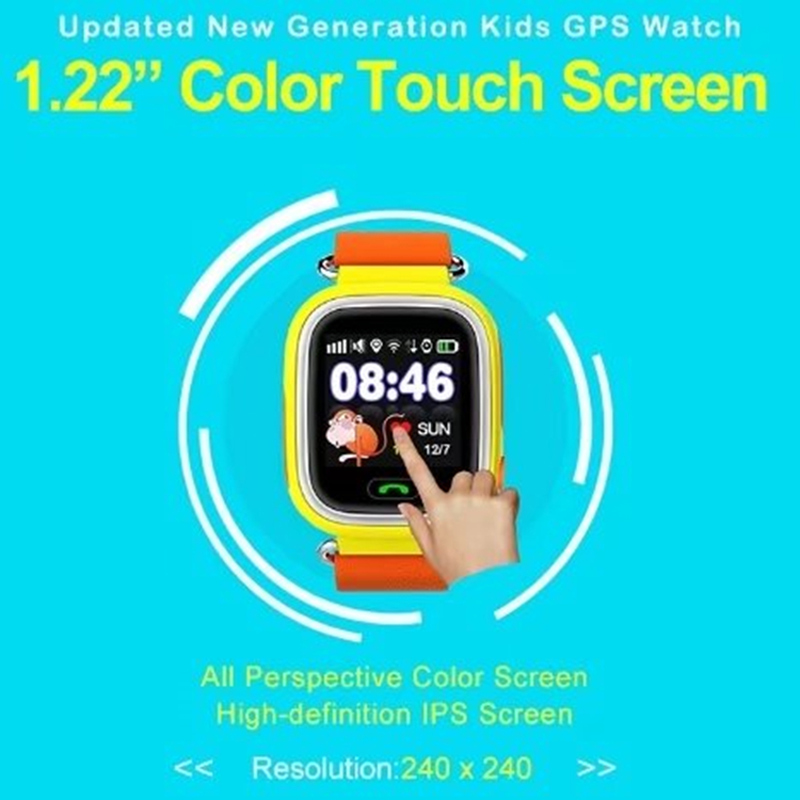 2018 Best <font><b>Kids</b></font> gift touch screen SOS Phone Call WIFI GPS <font><b>smart</b></font> <font><b>watch</b></font> for <font><b>kids</b></font> <font><b>q90</b></font> <font><b>smart</b></font> <font><b>watch</b></font> phone user manual image