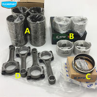 For Geely MK 1 2,MK1 MK2 ,MK Cross Hatchback,GC6,SC6, Car engine piston ring,cylinder liner,connecting rod