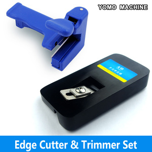 Image 2 - edge banding cutter with trimmer set wood pvc edge band end cutting device