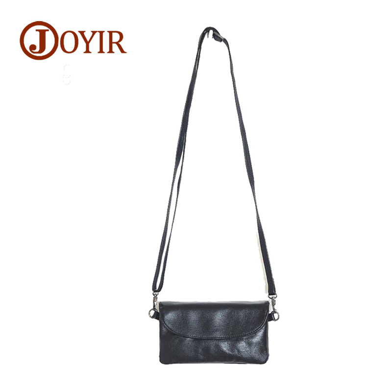 JOYIR New Handbags Women Messenger bags Designer Genuine Leather Shoulder Lady Envelope Clutch Bag Crossbody Gift Bolsa Feminina new arrival women messenger bags genuine leather female shoulder bags girls satchels envelop handbags lady clutch evening bag