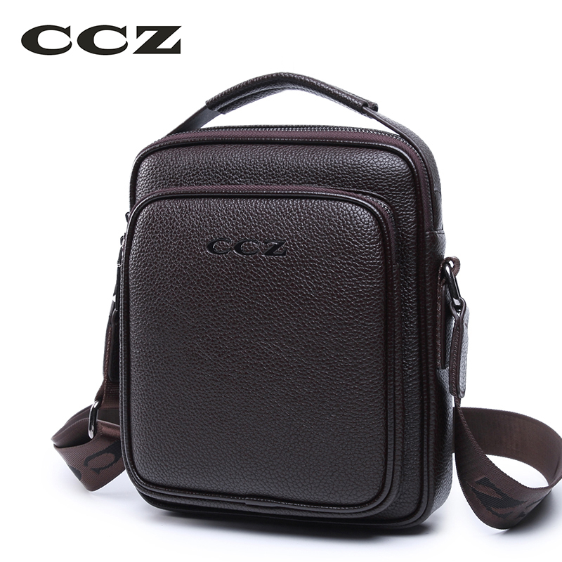 CCZ New Arrival Mens Shoulder Bags PU Leather Handbags For Men Solid Pattern Brand Bags Small Messenger Bag For Business  SL8003 джемпер miss selfridge miss selfridge mi035ewwsw33