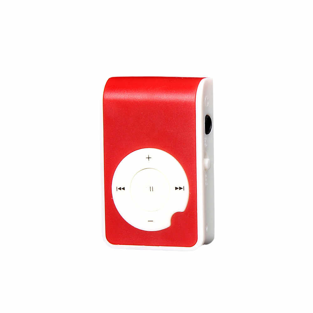 Reproductor de música módulo MP3 walderman reproductor Mini Clip Metal USB reproductor MP3 soporte Micro SD TF tarjeta música Media dropshipping