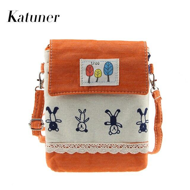 Katuner 2017 новый мультфильм бао бао холст crossbody сумки женщины милые мини сумка для девочек детей bolsas feminina kb029