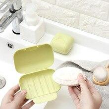 1PCS פלסטיק נייד סבון מחזיק מגש נסיעות תיבת צלחת בית אמבטיה מקלחת נסיעות מיכל מתקן סבון מדפי סבון כלים